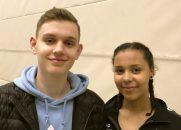 Alexander Fuchs und Sarah Bundu